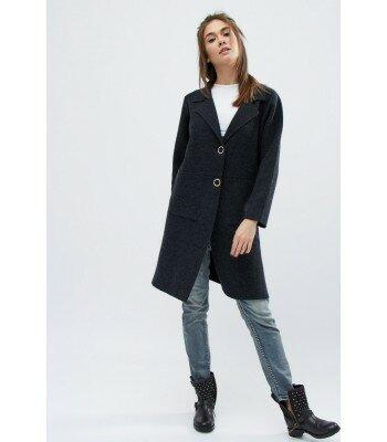 Демисезонное вязаное пальто X-Woyz