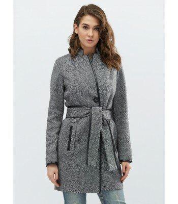 Пальто под пояс PL-8658
