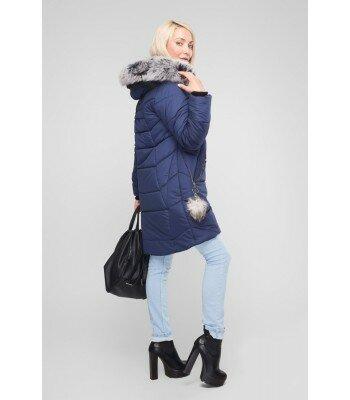 Зимняя куртка на молнии 26327-14