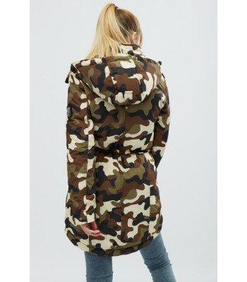Демисезонная куртка-парка 31049