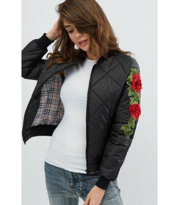 Демисезонная куртка с вышивкой 31068