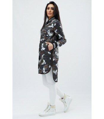 Демисезонная стеганная куртка 8771